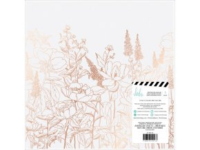 "Vellum 12""X12"" - HONEY & SPICE"
