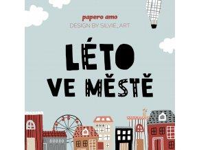 PAPERO AMO kit léto ve městě