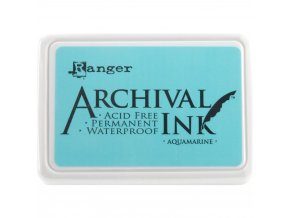 Razítkovací barva RANGER / Archival - AQUAMARINE