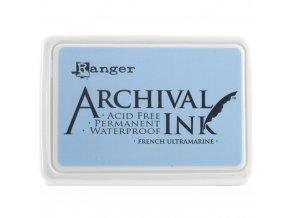 Razítkovací barva RANGER / Archival - FRENCH ULTRAMARINE
