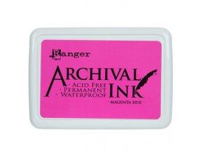 Razítkovací barva RANGER / Archival - MAGENTA HUE