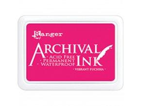 Razítkovací barva RANGER / Archival - VIBRANT FUCHSIA