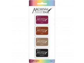 SADA razítkovacích barev RANGER / Archival - ZEMĚ