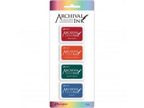 SADA razítkovacích barev RANGER / Archival - PODZIM