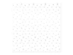 vellum 12x12 muerdago estrellas