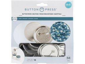 VELKÉ PLACKY (58mm) / Button Press
