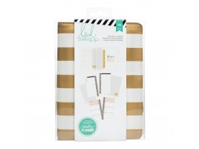 312596 Memory Planner Personal Gold Stripe