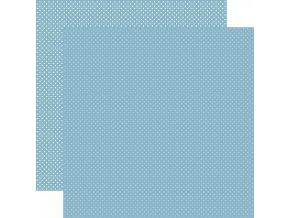 Scrapbookový papír - DOTS / Blue