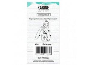 tampon clear carnet de route arret sur image les ateliers de karine
