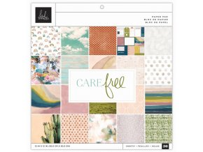 "Sada scrapbook papírů 12""X12""- CARE FREE"
