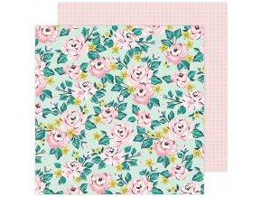Scrapbookový papír - GARDEN PARTY / Blooming