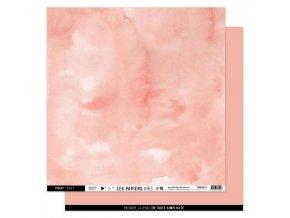 papier uni n16 rose corail