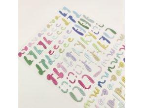 Pěnová abeceda - PÉTALOS