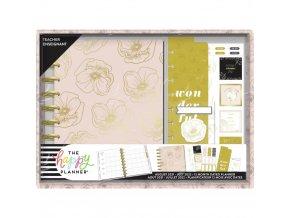 CLASSIC DIÁŘ Teacher Planner Box Kit - FANCY FLORALS