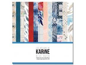 blue batik la collection les ateliers de karine