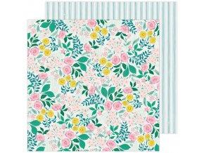 Scrapbookový papír - GARDEN PARTY / Wild Flower
