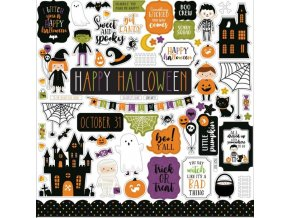cardstock stickers halloween magic echo park