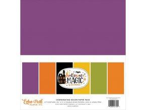 Sada barevných papírů - HALLOWEEN MAGIC