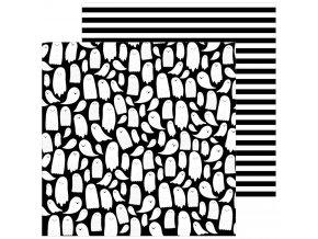 Scrapbookový papír - SPOOOKY / Hey Booo
