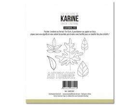 pochoir broderie 15x15 les ateliers de karine cahier d automne automne etc