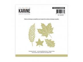 dies matrices de decoupes les ateliers de karine cahier d automne feuilles d automne (1)