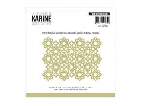 1 die matrice de decoupe les ateliers de karine cahier d automne fond geometrique