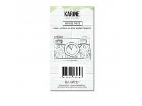 tampon transparent les ateliers de karine cahier d automne appareil photo