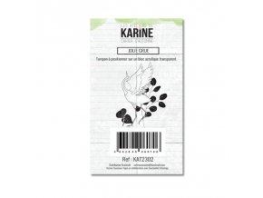 tampon transparent les ateliers de karine cahier d automne jolie grue
