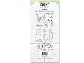 tampon transparent les ateliers de karine cahier d automne rever encore