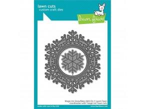 VYŘEZÁVACÍ ŠABLONY - Magic Iris Snowflake