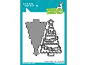 VYŘEZÁVACÍ ŠABLONY - Jolly Christmas Tree