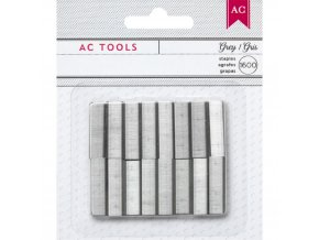 AMERICAN CRAFTS - DIY Shop - MINI STAPLER Refill Staples GRAY