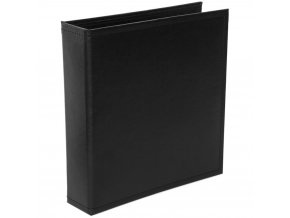"AMERICAN CRAFTS - Project Life Faux Leather D-RING album 6""X8"" - MIDNIGHT"