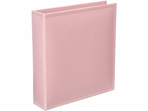 "AMERICAN CRAFTS - Project Life Faux Leather D-RING album 6""X8"" - BABY PINK"