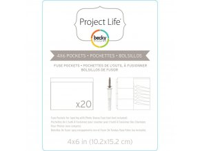 "BECKY HIGGINS - Project Life Photo Fuse Sleeves - 4""X6"""