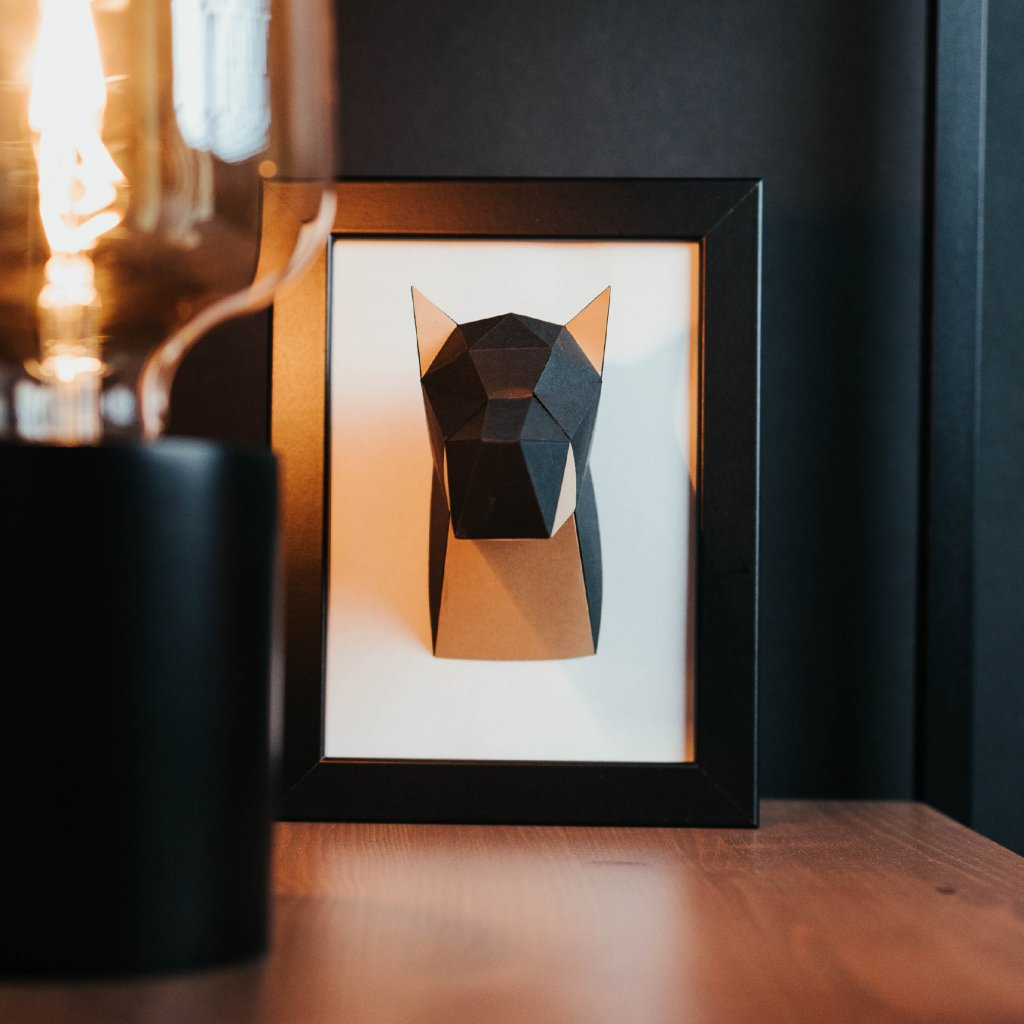 Papírová skládačka Dobrman Mini PaperTime