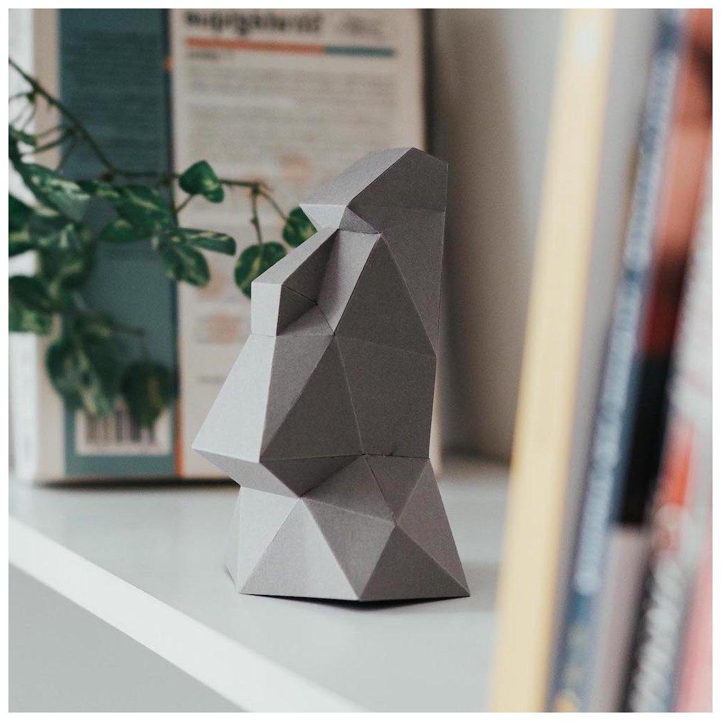 Papírová skládačka Socha Moai Mini PaperTime