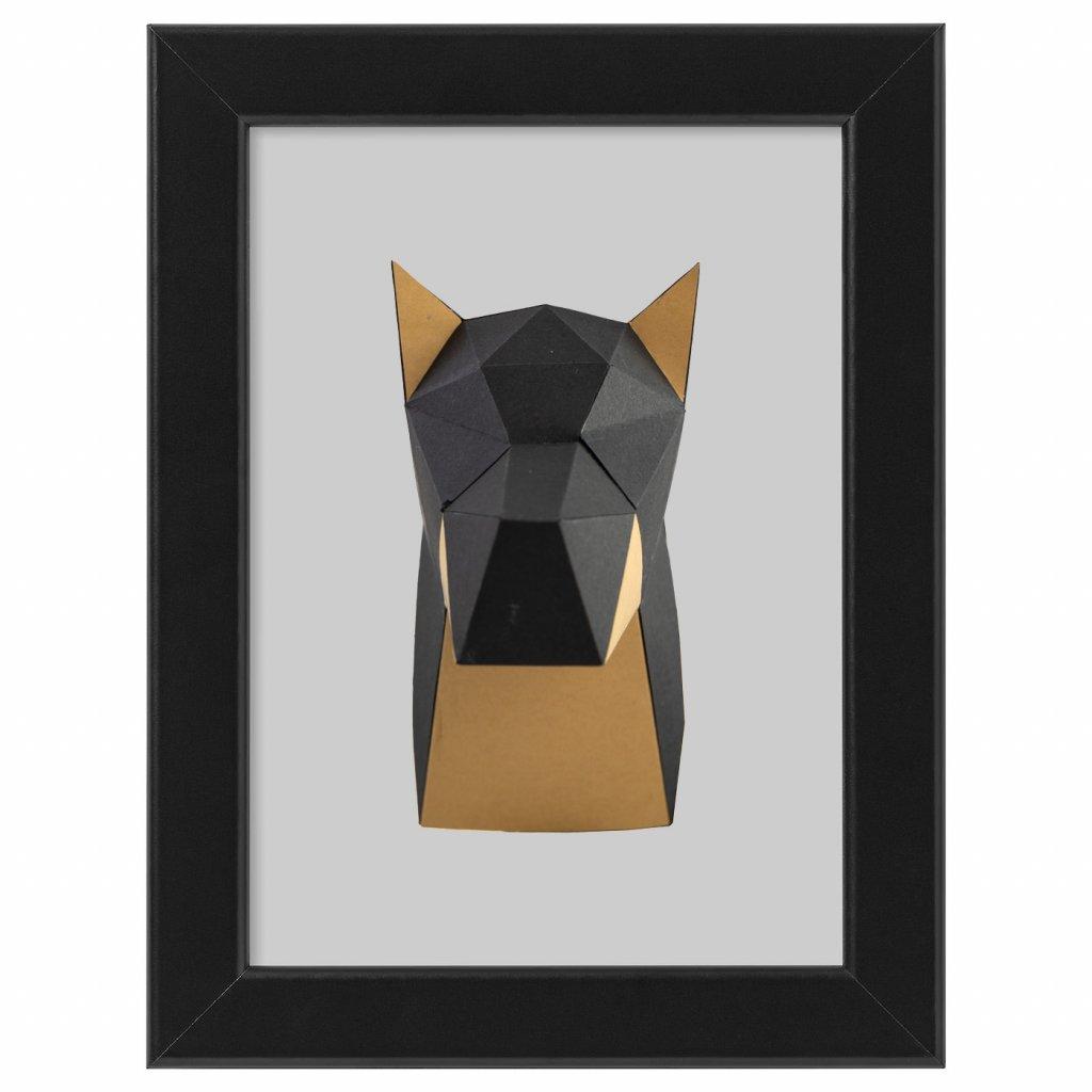 Rámeček Mini – černý PaperTime