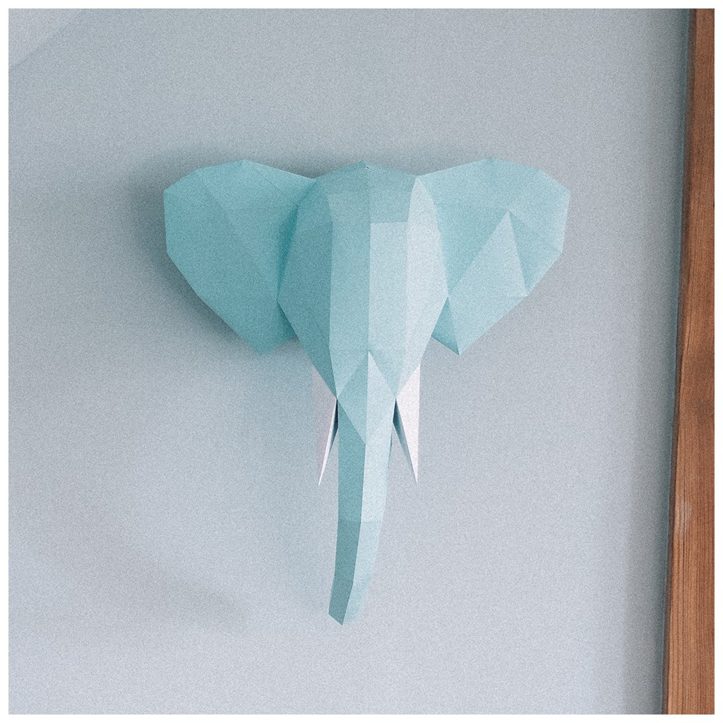 Papírová skládačka Slon PaperTime