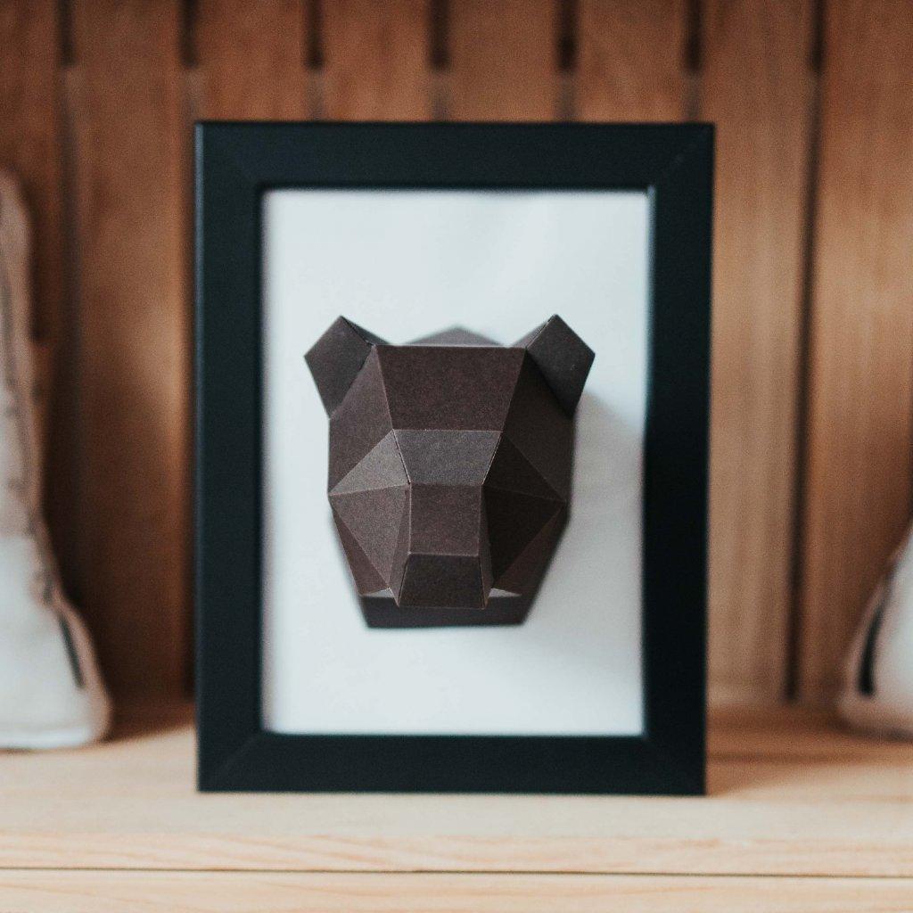 Papírová skládačka Medvěd Mini PaperTime