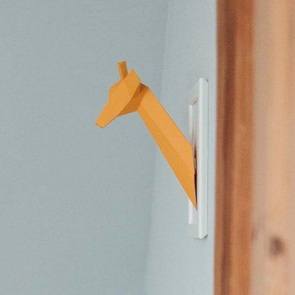 Papírová skládačka Žirafa Mini PaperTime