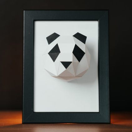 Papírová skládačka Panda Mini PaperTime
