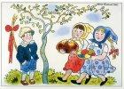 Josef Lada a Alena Ladová Postcards