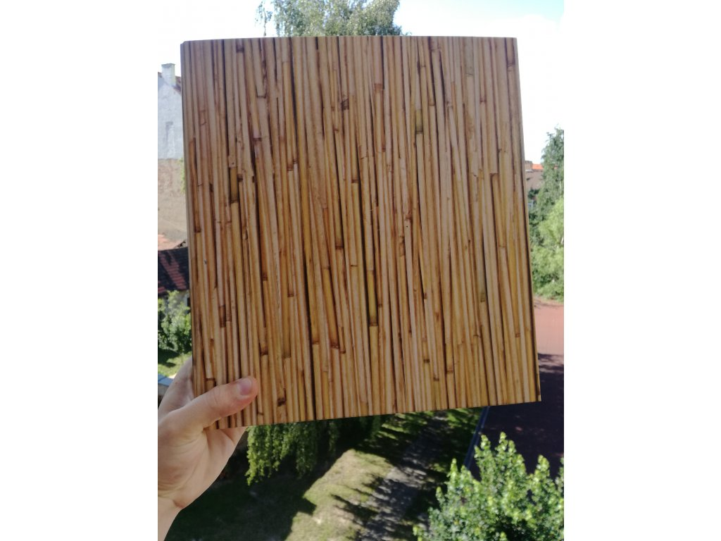 Album for postcards Bamboo - 400 postcards - 4 postcards per sheet