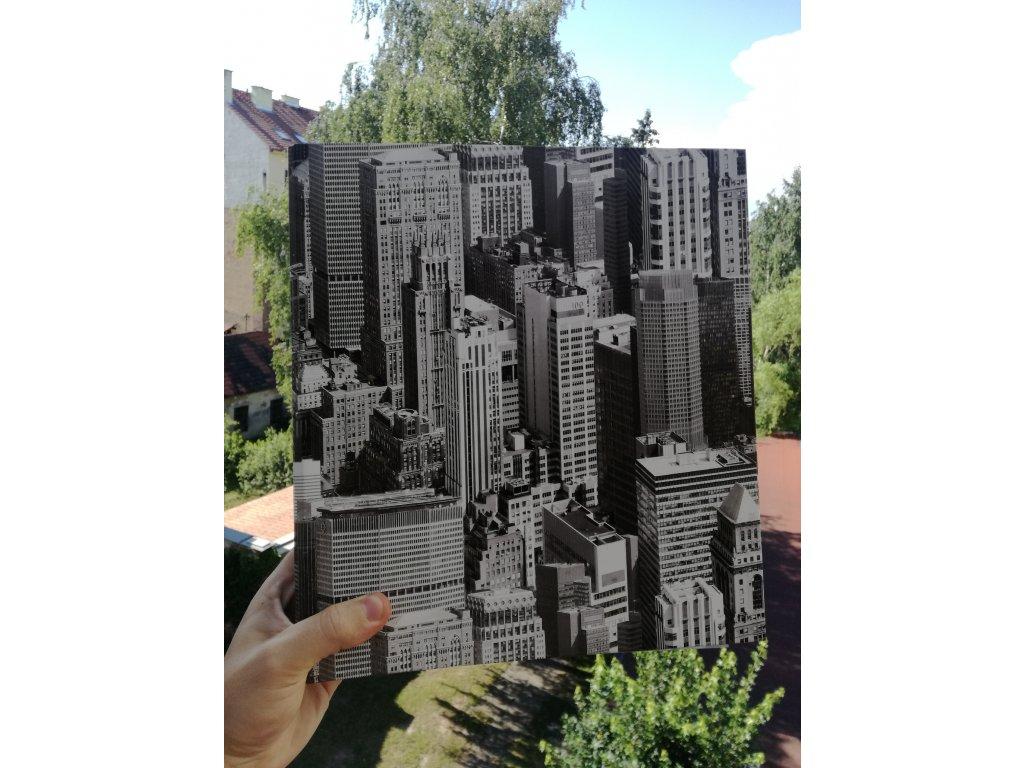 Album for postcards Skyscrapers - 400 postcards - 4 postcards per sheet