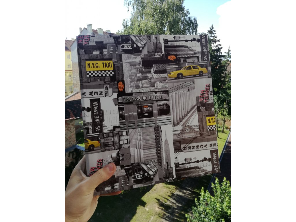 Album for postcards New York - 400 postcards - 4 postcards per sheet