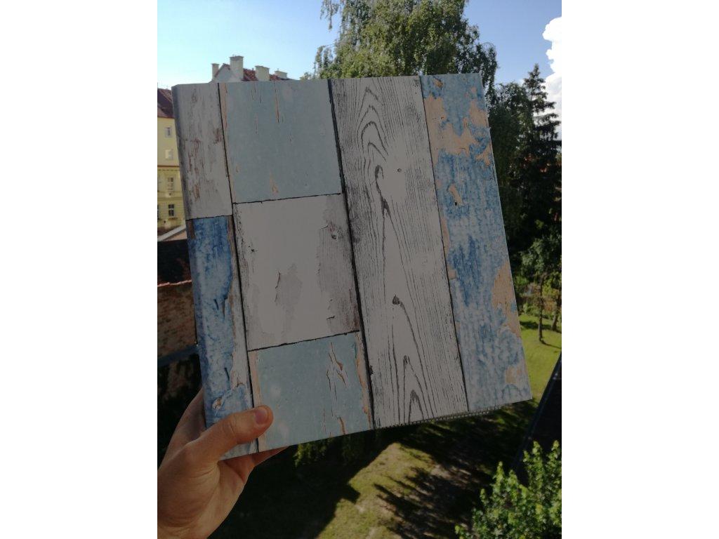 Album for postcards Old wood - 400 postcards - 4 postcards per sheet