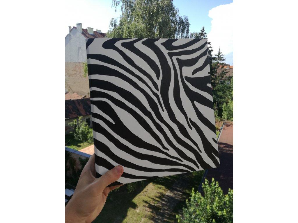 Album for postcards Zebra - 400 postcards - 4 postcards per sheet