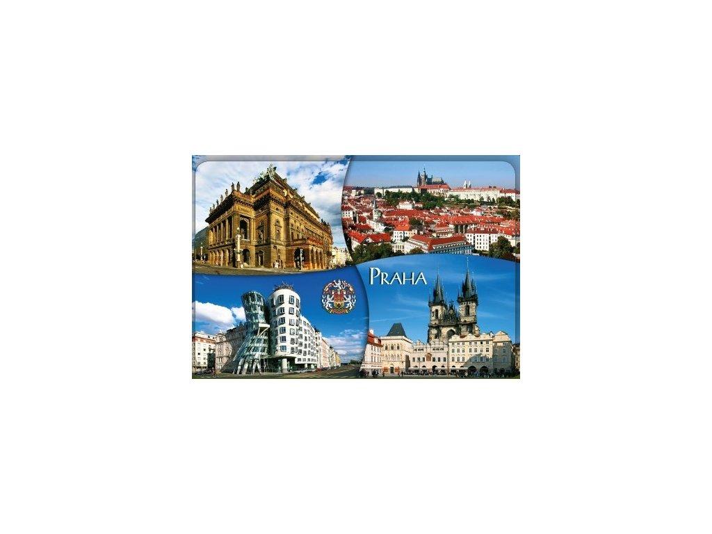 Praha šířka