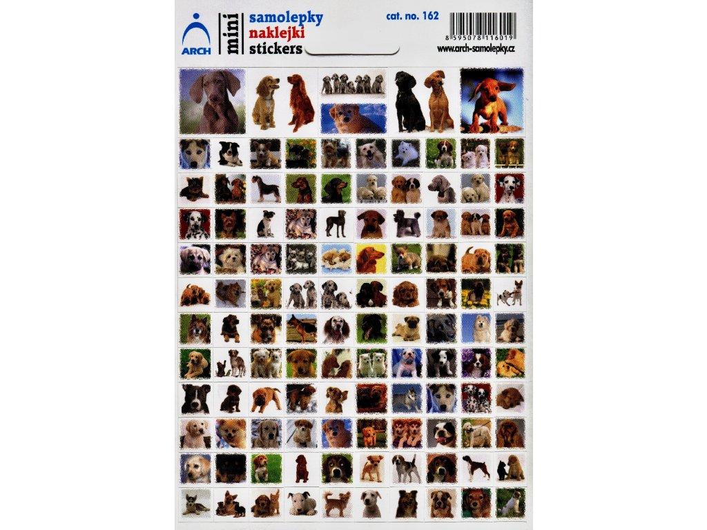 3077 1 mini samolepky psi 11 5 x 17 cm